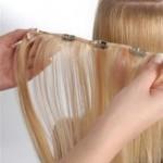 Наращивание волос на клипсах