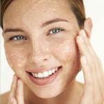 очистка кожи лица сахарным скрабом