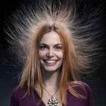 Боремся со статическим электричеством на волосах