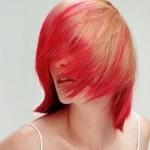 Красим кончики волос