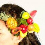 фрукты для волос