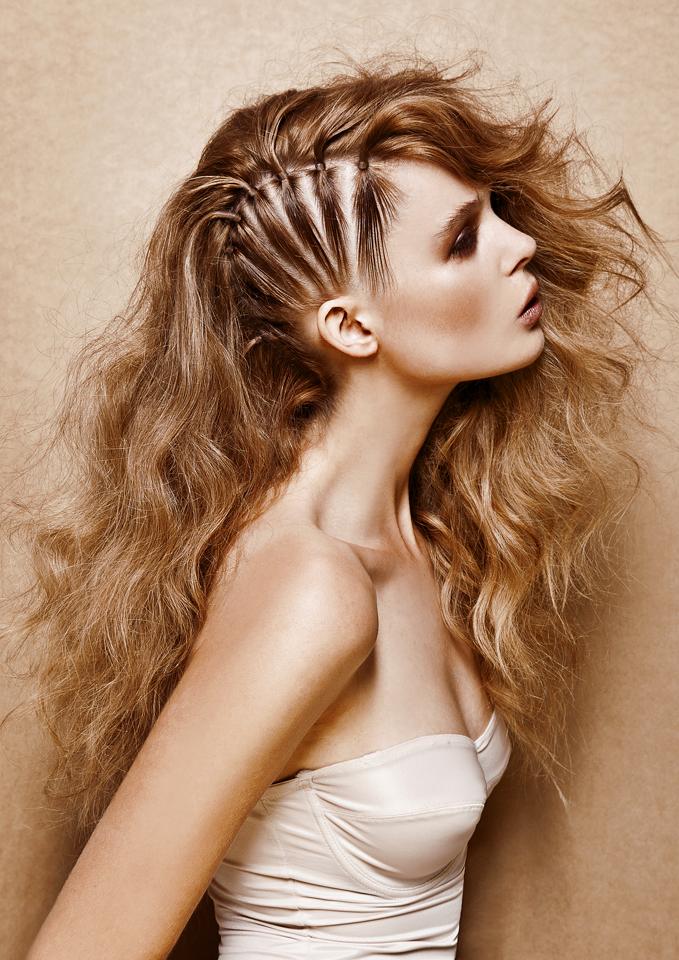 неординарные прически на длинные волосы
