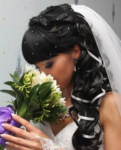 стразы на волосах (отдельные)