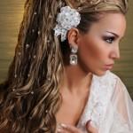 стразы на волосах (пряди)