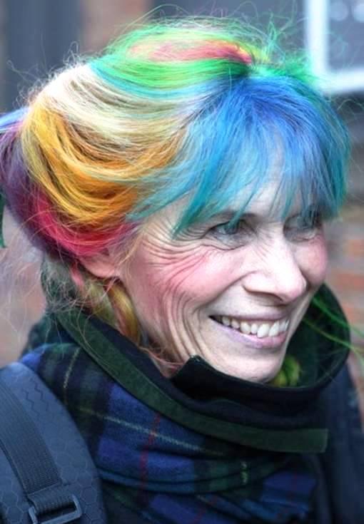 цвет волос который молодит