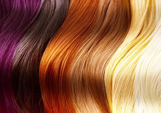 бытовая и профессиональная краска для волос