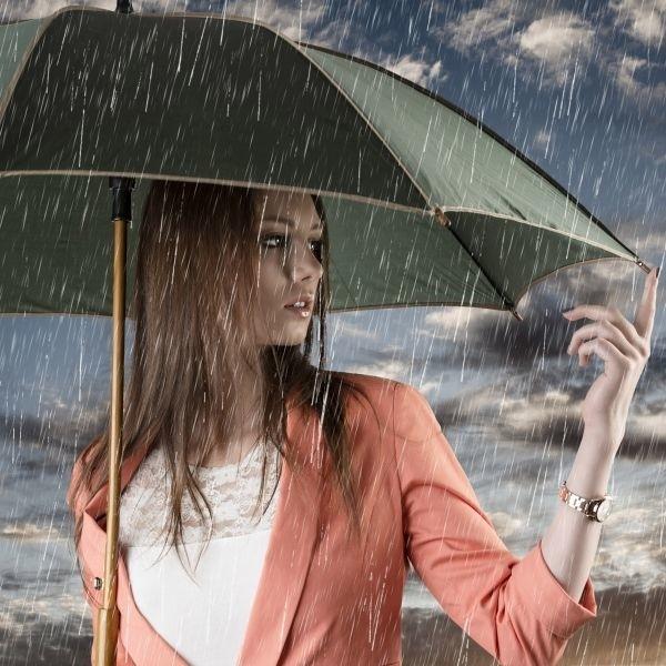 прически для дождливой погоды