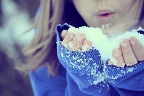 Ногти и зима
