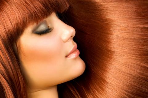 глянцевый блеск волос