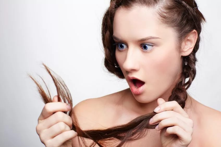 Секущиеся концы волос