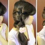 Как можно легко украсить волосы